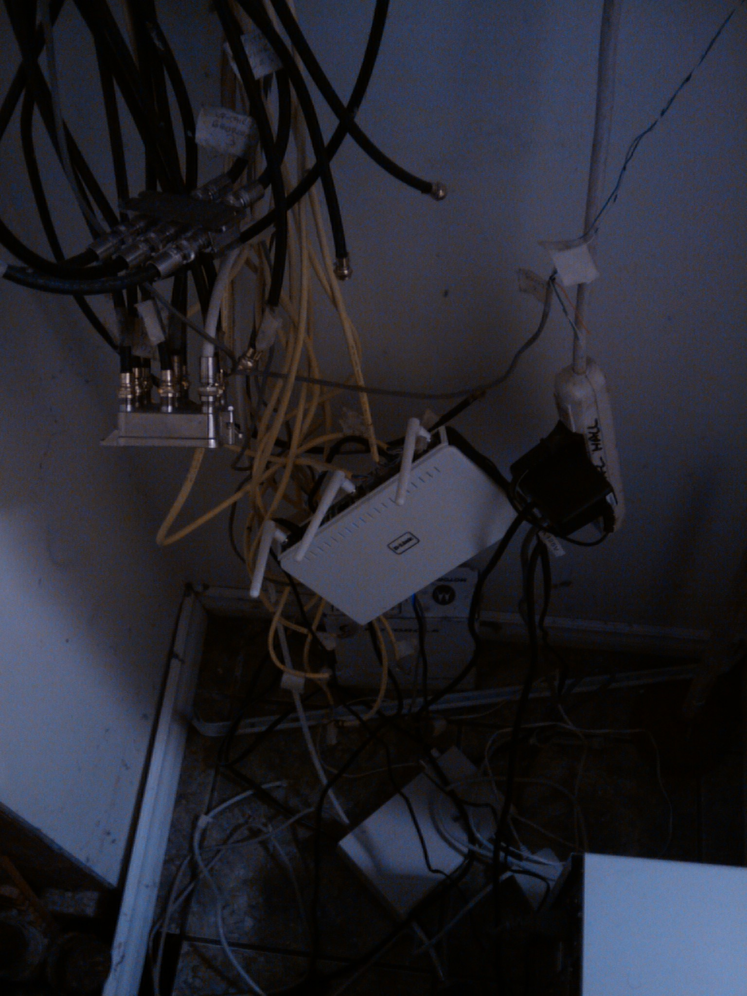 Playing Music Over The Network Clarke Brunsdon Wiring Closet Mess Wireless